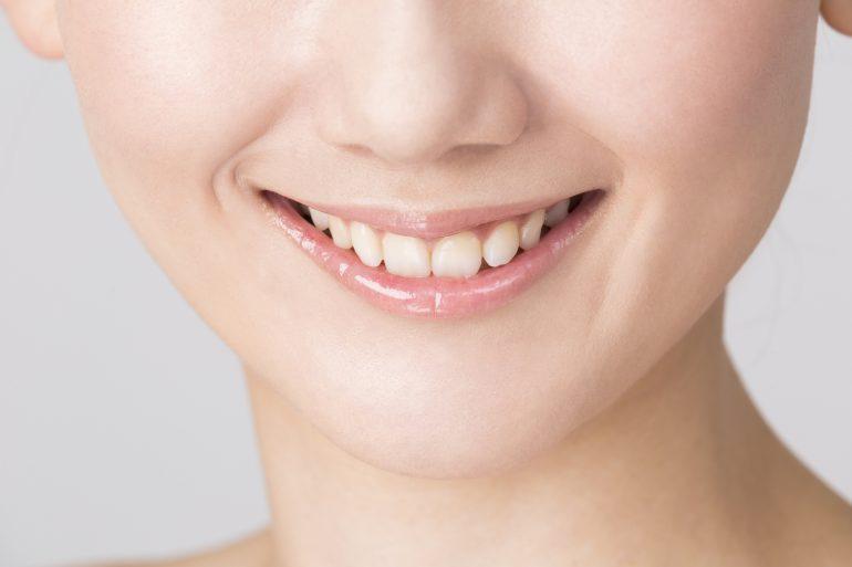 歯茎の色や形も美しく